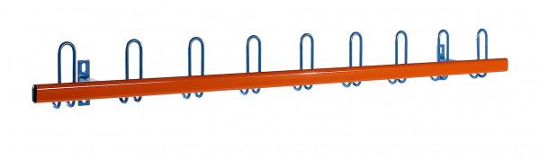 Hakenleiste Stahlblende zweifarbig