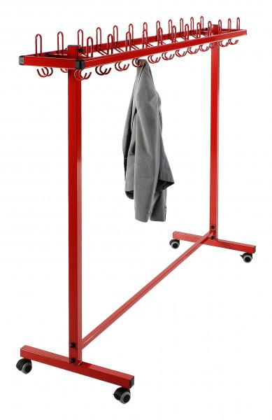 Garderobenständer mit Stahlblende