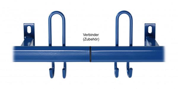 Verbinder Stahl-Hakenleisten